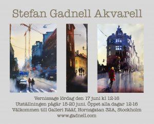 Missa inte min nästa utställning i juni på Hornsgatan